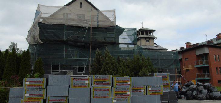 Termomodernizacja domu św. Józefa i domu z arkadami